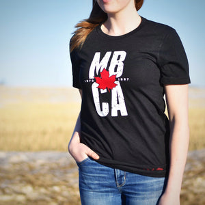 Unisex - Manitoba 4.0 Crew T - Heather Black