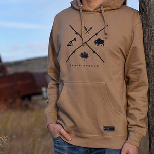 Mens - Barb Wire Hood - Sand