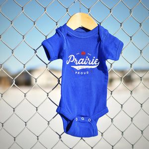 Kids - Slo-Pitch Baby Onesie - Royal
