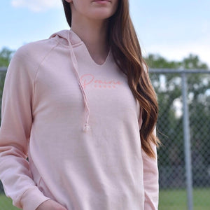 Ladies - Rivers Hoodie - Peach