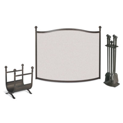 18297 Pilgrim Ball and Claw Fireplace Screen