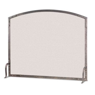 18304 Old World Arch Panel Fireplace Screen