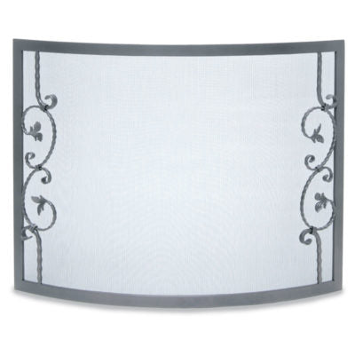 18343 Pilgrim Forged Scallop Fireplace Screen