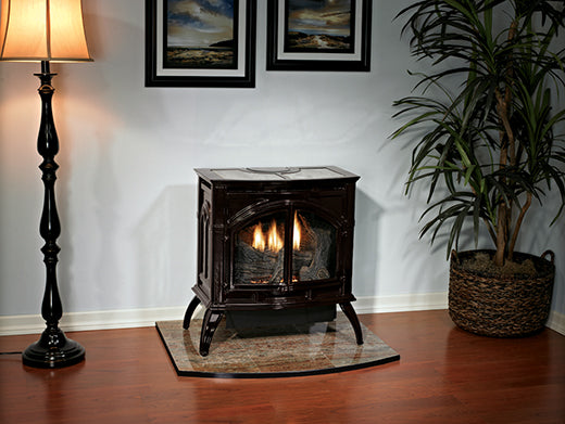 Empire Compact Vent Free Freestanding Cast Iron Stove