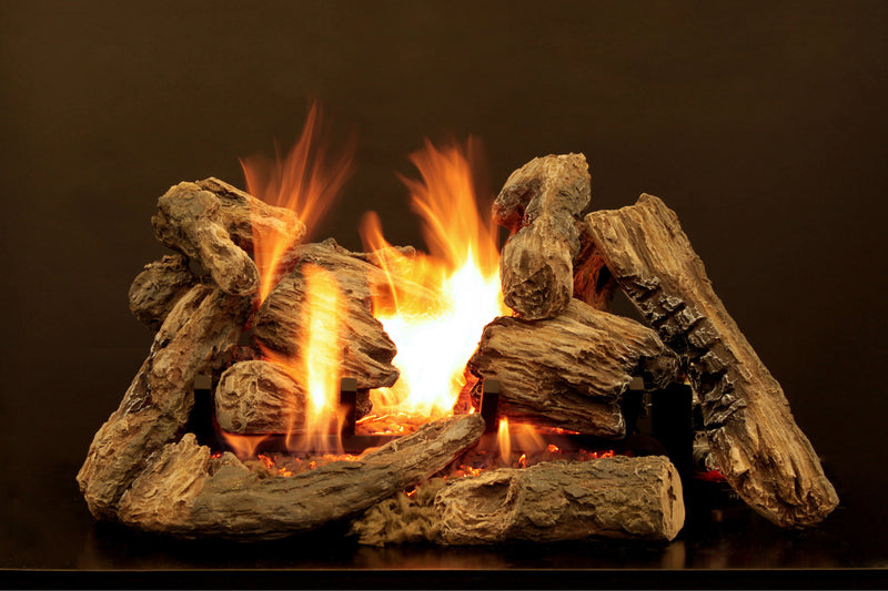White Mountain Hearth Kensington Forest Ceramic Fiber Log Set