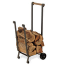 18525 Pilgrim Forged Iron Wood Cart