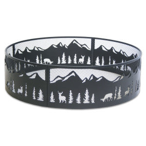 18643 Pilgrim Nature Wood Burning Fire Ring