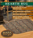 19629 Pilgrim Branching Out Hearth Rug