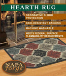 19650 Pilgrim Shenandoah Natural Hearth Rug
