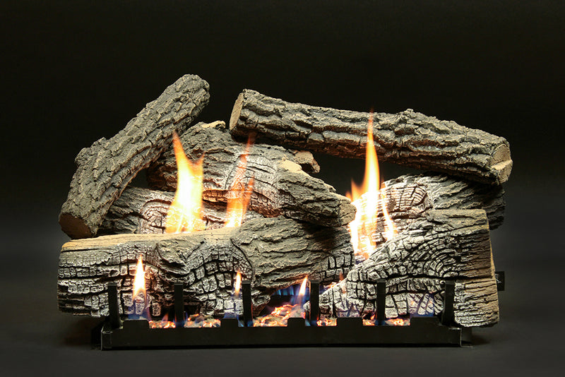 White Mountain Hearth Refractory Super Stacked Wildwood Log Set