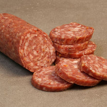 Load image into Gallery viewer, Busseto Hot Sopressata 8oz