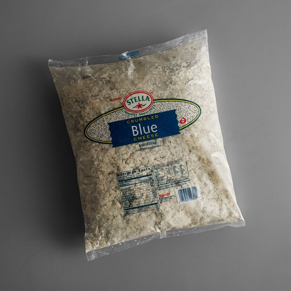Stella Crumbled Blue Cheese 5 lb Bag