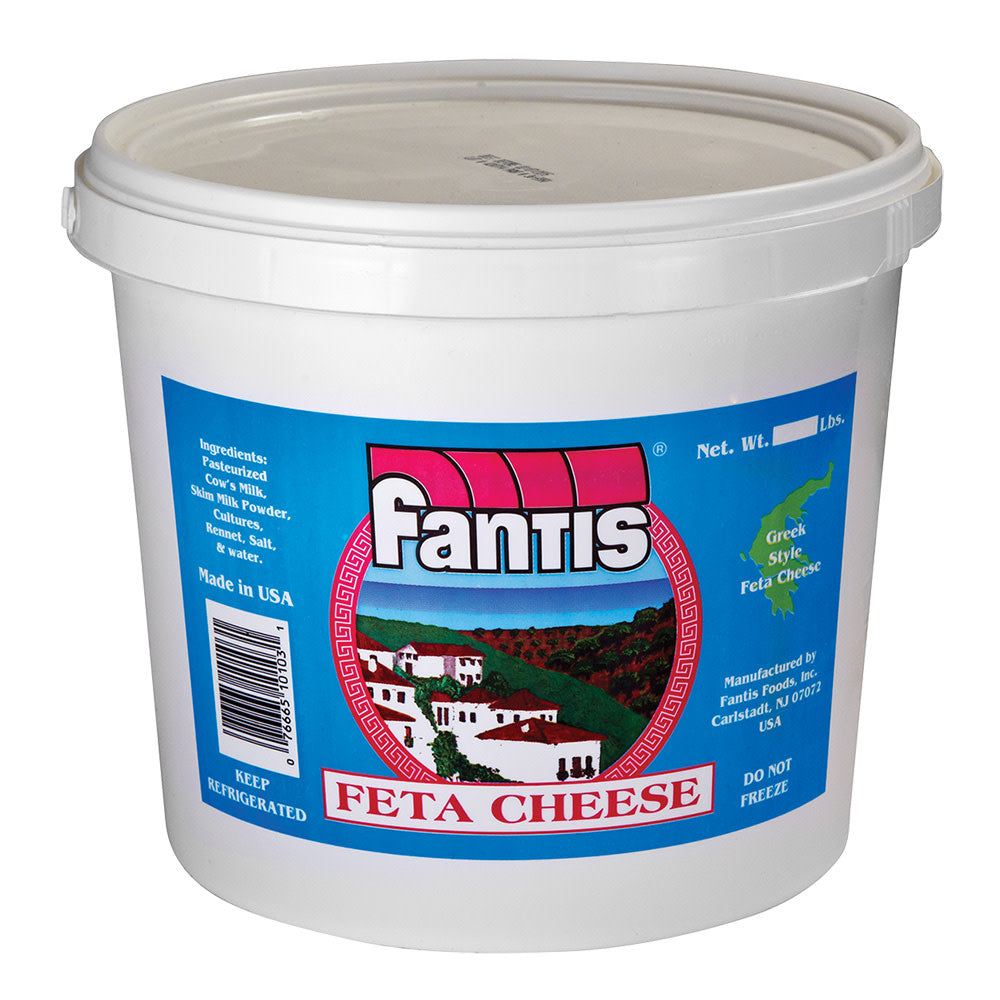 Feta Cheese 8 lb Tub