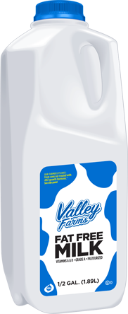 Skim Milk Half Gallon