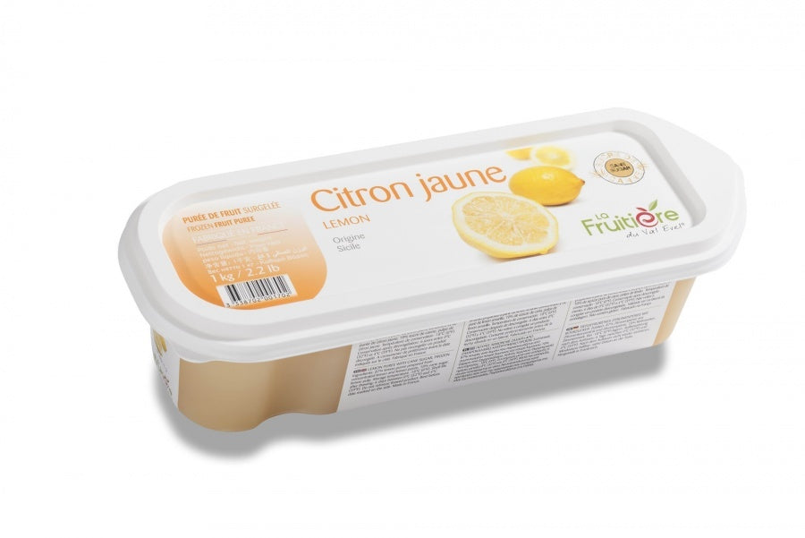 Lemon Frozen Fruit Puree - 2.2 lb