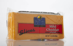 Sliced Mild Yellow Cheddar 1.5 lb