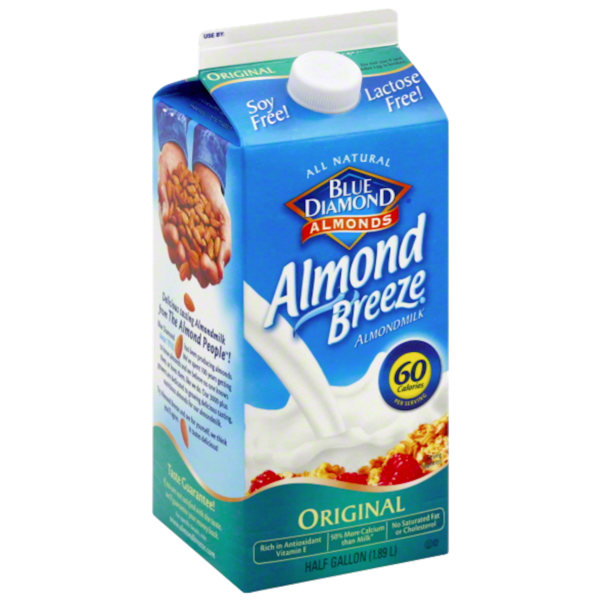 Almond Breeze Original Half Gallon