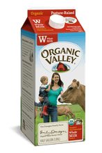 Load image into Gallery viewer, Organic Whole Milk Half Gallon