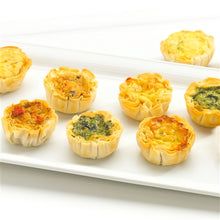 Load image into Gallery viewer, Assorted Quiche in Fillo Cups