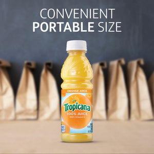 Tropicana Orange Juice Plastic 14 oz (12 / Case)