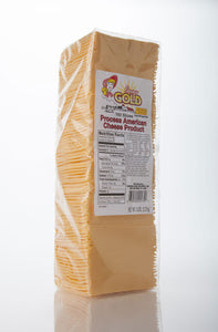 American Cheese Sliced 5lb (120 Slices)