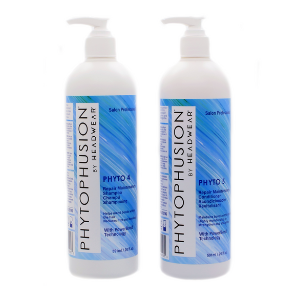 Phyto 4/5 Repair Maintenance Shampoo and Conditioner Duo with PowerBond Technology