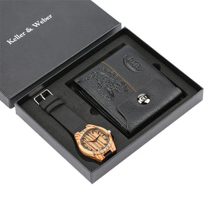The best gift set: Wallet + Watch