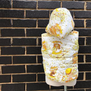 6-13 mths Baby Quilted Vest with Hood