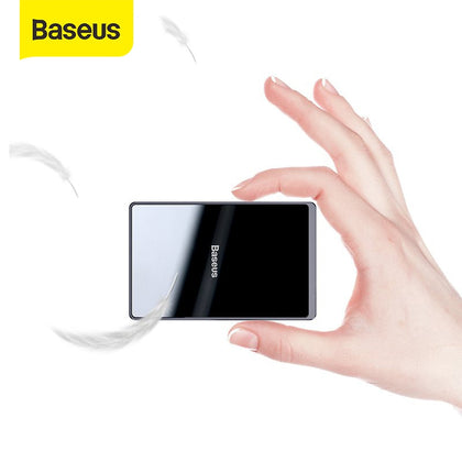 Baseus 15W Qi Wireless Charger Portable Ultra Thin Wireless Charging Pad for iPhone 11 Pro X XS XR 8 Samsung S10 S9 Xiaomi mi 9