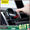 Baseus 15W Wireless Charger Car Mount for Air Vent Mount Car Phone Holder Intelligent Infrared Fast Wireless Charging Charger