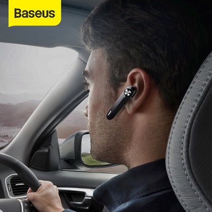 Baseus A01 Wireless Bluetooth Earphone Mini Business Portable Earphones With Microphone For xiaomi iPhone Driving Fone De Ouvido