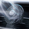 Baseus Air Vent Mounted USB Fan 3 Speed Air Cooling Fan For Car Air Outlet Car Backseat 360° Rotatable Car Fan For Vehicle