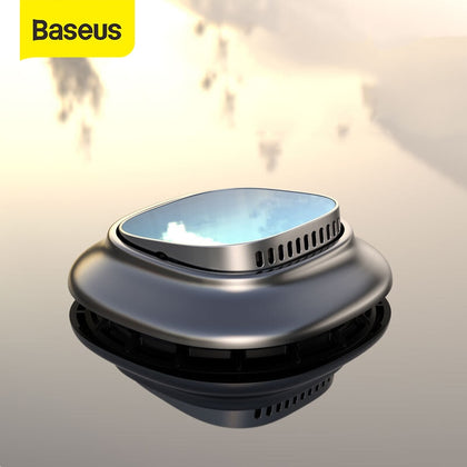 Baseus Alloy Car Air Freshener Perfume Fragrance Auto Aroma Diffuser Aromatherapy Solid Air Outlet Dashboard Perfume Holder