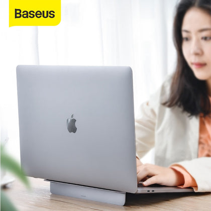Baseus Alloy Laptop Stand Foldable Desktop Notebook Holder Adjustable Desk Laptop Stand For 12-17 inch Macbook Pro Air