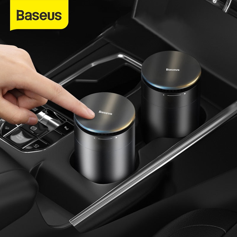Baseus Car Air Freshener Strong Perfume with Solid Aroma Cup Holder Auto Purifier Air Conditioner Diffuser Remove Formaldehyde