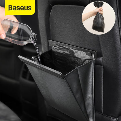 Baseus Car Organizer Car Trunk PU Leather Back Seat Storage Bag Auto Cargo Storage Box Universal For Cars Luggage Travel Pocket