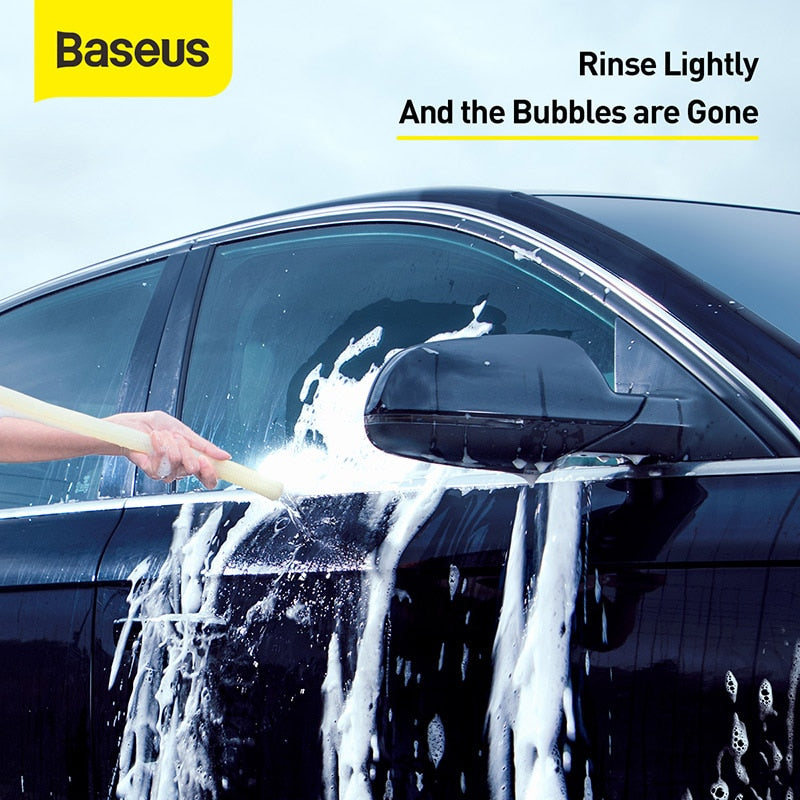 Baseus Car Washer Wiper Cleaner Multifunctional Effervescent Foam Cleaner Car Windshield Glass Cleaning Auto Car Accessory