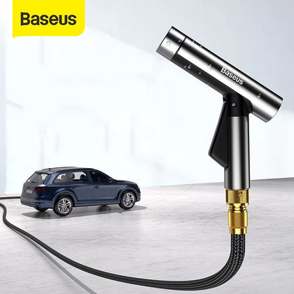 Baseus  Car Washing Gun Sprayer Nozzle Magic Flexible Hose Car Water Gun High Pressure Power Washer Garden Water Jet