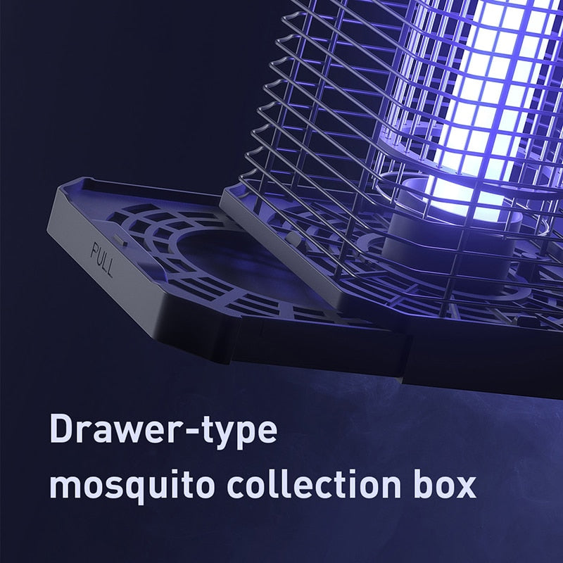 Baseus Courtyards Mosquito Light Led Mosquito Killer Lamp Photocatalytic Repellent Pest Trap Light Garden Courtyards Night Light