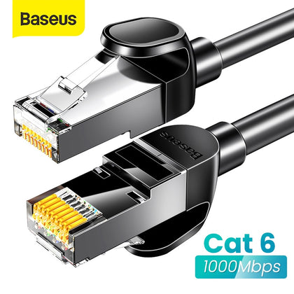 Baseus Ethernet Cable Cat6 RJ45 Cable UTP Lan Cable for Computer Router RJ 45 Internet Cable 3m/5m/10m Network Cable Cord