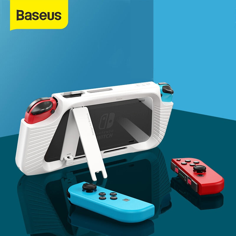 Baseus Gamepad Holder Case For Nintendo Switch Joypad Stand Holder Cover For Nintendos Switch Left Right Game Controller Coque