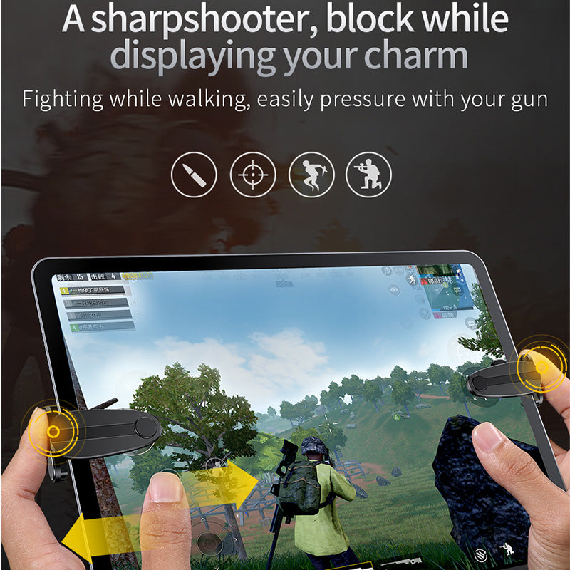 Baseus Gamepad Joystick for Tablet iPad Pad L1 R1 Gaming Trigger Mobile Shooter Controller FPS Pad Game Fire Button Aim Key