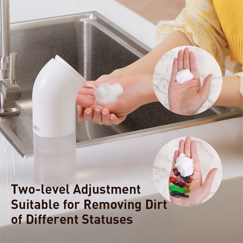 Baseus Intelligent Liquid Soap Dispenser Automatic Contactless Foaming Hand Washing Machine Infrared Sensor Soap Dispensers