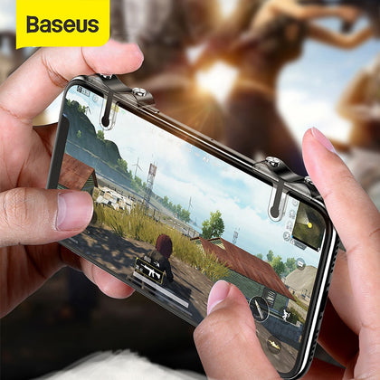 Baseus Joystick Game Pad For PUBG Mobile Gamepad L1 R1 Gaming Trigger Shooter Controller Fire Button Handle for IOS Android
