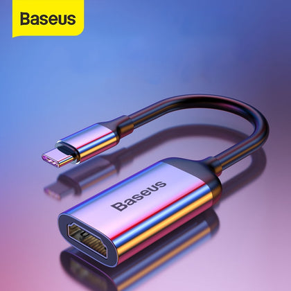 Baseus Multi USB C HUB USB 3.0 HDMI VGA USB Splitter Type C Adapter for MacBook Pro PC Accessories PD Charging Type C HUB