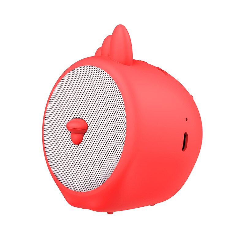 Baseus Portable Bluetooth Speaker Better Bass Colorful Animal Model Waterproof Stereo Sound Mini Speaker For Home & Car