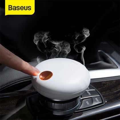 Baseus Rechargeable Car Air Freshener Nature Perfume Smell Flavoring For Home Car Aromatherapy Auto Interior Accessories