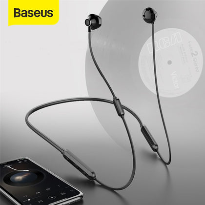 Baseus S11A Bluetooth Earphone Sport Wireless Headphone Wireless Earphones Bluetooth headset for iPhone Xiaomi 9