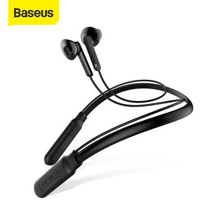 Baseus S16 Neckband Sport Headphone Wireless Bluetooth Earphone Built-in Mic Wireless earbuds stereo auriculares for phone