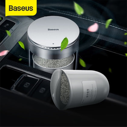 Baseus Strong Aroma Refills for Car Air Freshener Supplement Cup Holder Perfume Long lasting Cologne and Sea Smell